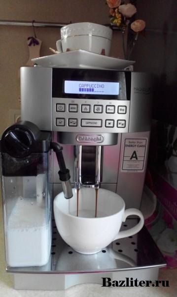 Честный отзыв и обзор: кофемашина Delonghi Magnifica ECAM 22.360