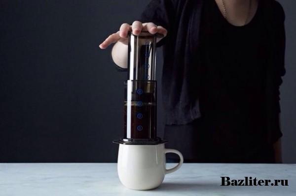 Аэропресс для кофе: особенности, конструкция, принцип действия, плюсы и минусы
