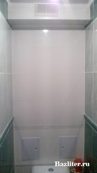 Как сделать декоративную стену с дверцами из пластиковых панелей в туалете? Инструкция и советы