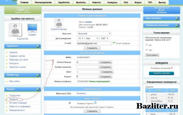 Обзор проекта активного заработка WMRFast