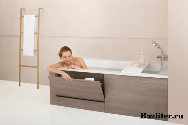 Изготовление экрана для ванны из МДФ своими руками