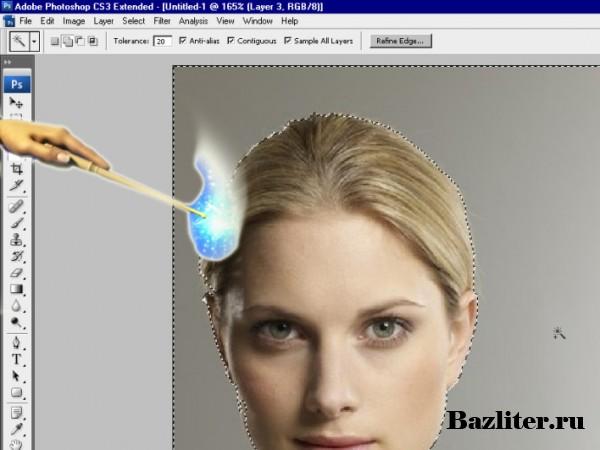 Введение в фотошоп (Photoshop) (Часть 9. Фотомонтаж)