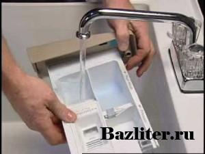 Как и чем почистить лоток для порошка в стиральной машине