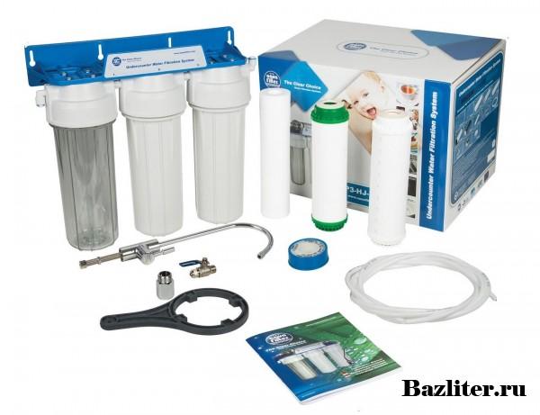 """Система фильтрации воды """"под мойку"""". Назначение и виды"""