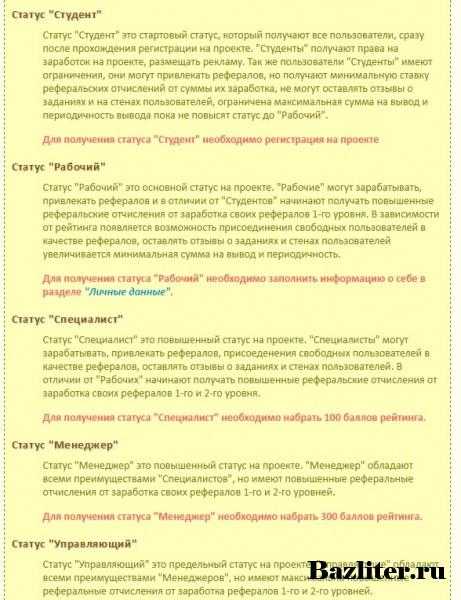 Обзор проекта активного заработка Profit Ruble