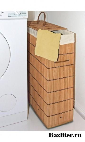 Хранение грязного белья. Места для хранения и полезные советы