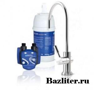 Настольная система фильтрации воды проточного типа