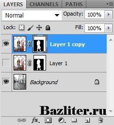 Введение в фотошоп (Photoshop) (Часть 27. Сложное выделение: маска на основе канала)