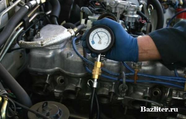 Компрессия двигателя. Результаты измерения