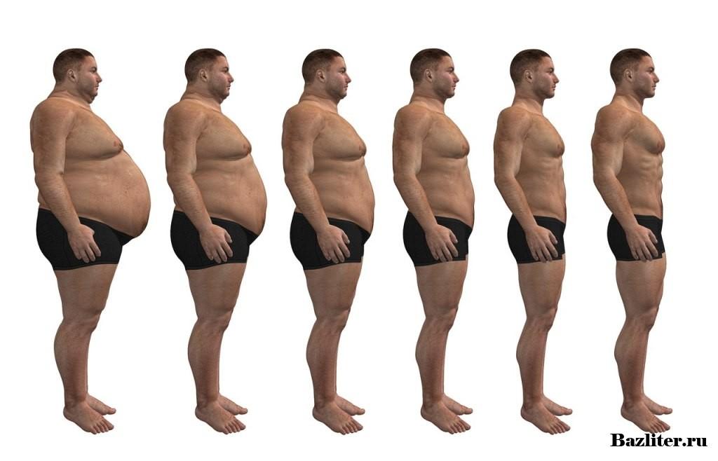 Мужчине похудеть ногах