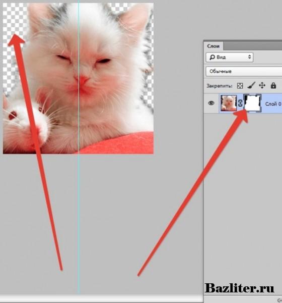 Введение в фотошоп (Photoshop) (Часть 32. Монтаж снимка при помощи маски слоя)