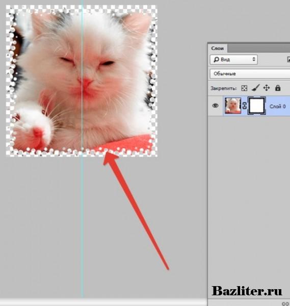 Фильтры и инструменты, используемые для слой маски в фотошоп