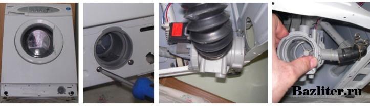 Канди стиральная машина не сливает воду ремонт