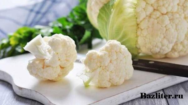 Как правильно заморозить цветную капусту? Способы, рецепты и секреты
