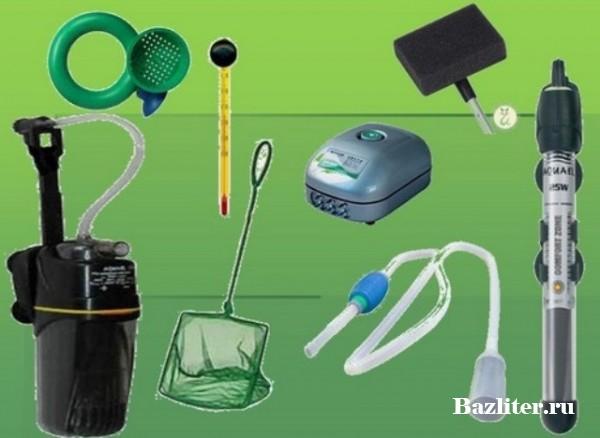 Выбор оборудования для аквариума
