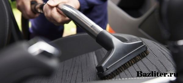 Как сделать химчистку салона автомобиля. Какие средства лучше использовать