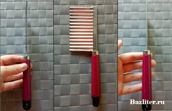 Ручной измельчитель, декоратор для овощей и фигурный нож//Алиэкспресс//Тестирование и отзыв