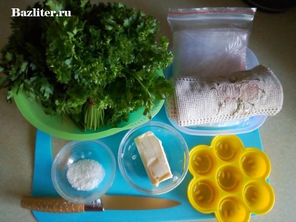 Как заморозить петрушку на зиму: способы заморозки
