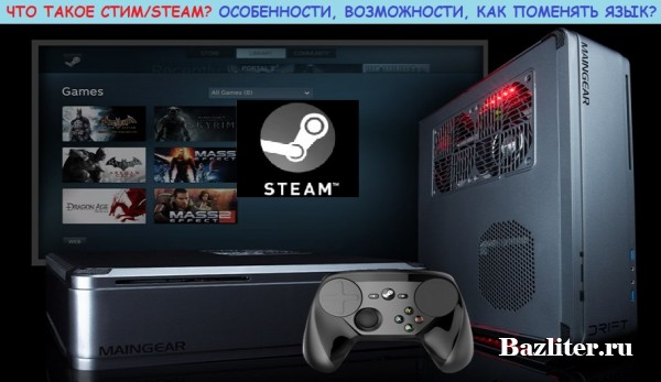 Что такое Стим/Steam. Особенности, возможности и как поменять язык на русский