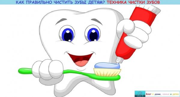 Когда начинать чистить зубы ребенку. Особенности, правила, техника чистки и приспособления