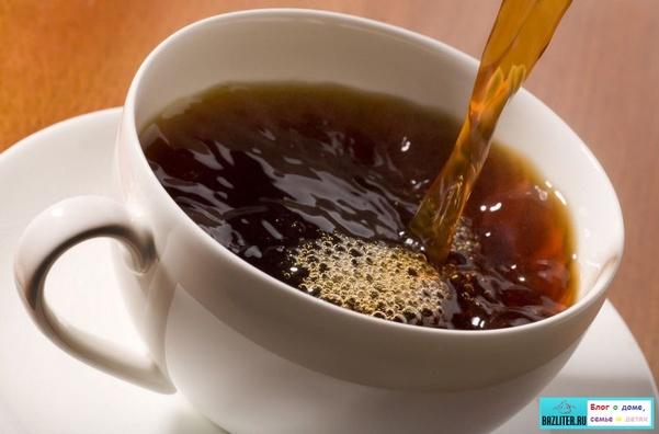 сравнительная таблица кофе и чай