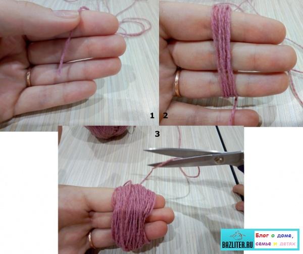 Как сделать помпоны своими руками. Особенности, способы, инструкция и советы