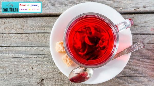 Чай каркаде (гибискус): особенности, состав, свойства, рецепты заваривания, противопоказания, польза и вред