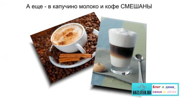 Что такое кофе Латте Макиато (Latte Macchiato). Особенности, отличия от капучино, рецепты и как приготовить
