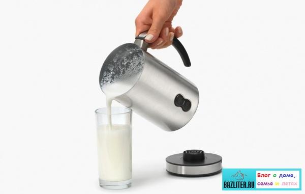 Как выбрать лучший вспениватель (капучинатор) молока. Особенности, виды, характеристики, цены, плюсы и минусы