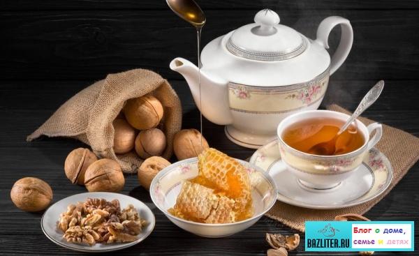 Чай с медом: особенности, свойства, качества, заваривание, правила употребления, польза и вред