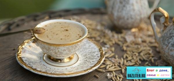 Заменители чая и кофе: цикорий, фруктовый компот, травяной настой, каркаде, имбирный и ячменный напитки
