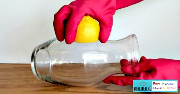 Лимон, как лучший друг хозяйки. Секреты и способы полезного применения для уборки дома