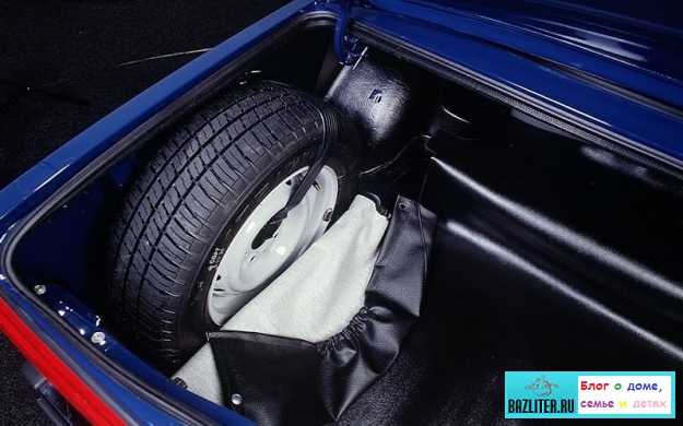 Пятое колесо в автомобиле – базовые знания про запаску