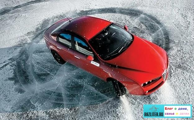 Движение на автомобиле зимой - как обезопаситься от неприятностей? Секреты безопасного вождения