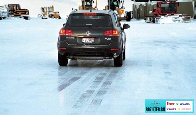 Разгон, торможение и блокировка колес зимой: особенности, правила, инструкции и рекомендации