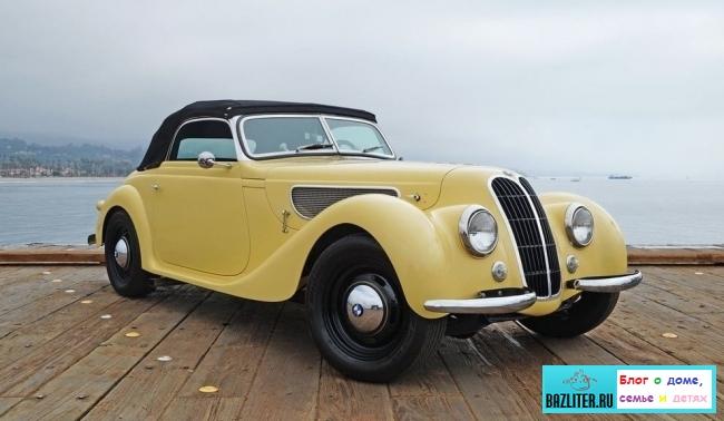 Топ-10 легендарных ретро-автомобилей: список моделей и характеристики
