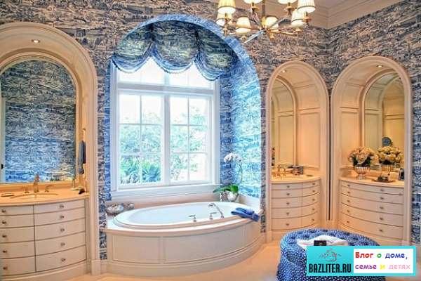 ванная комната, французский стиль, дизайн интерьера, как оформить, в ванной комнате, дизайн ванной, интерьер в ванной комнате, ванная комната французский стиль, bazliter.ru, стилистика, отличительные особенности, правила оформления, декоративные элементы, уникальные идеи, практические советы, верные способы, как оформить, оформление ванной комнаты, ванна