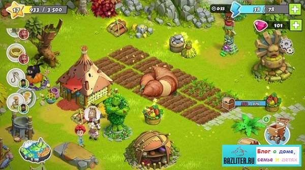 здания в игре family island, объекты в игре family island, family island, семейный остров, обзор, игра,