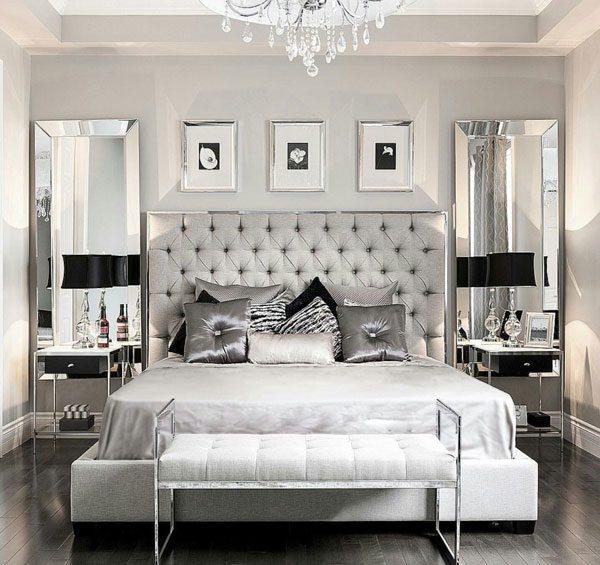 зеркало в зеркальной раме интерьер