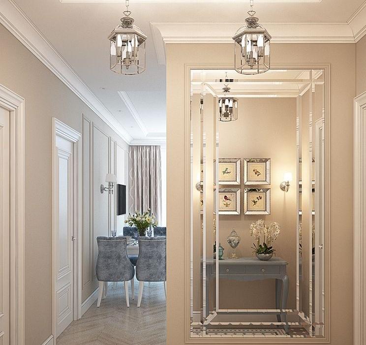 Зеркальная рама для зеркала: эффектно и стильно