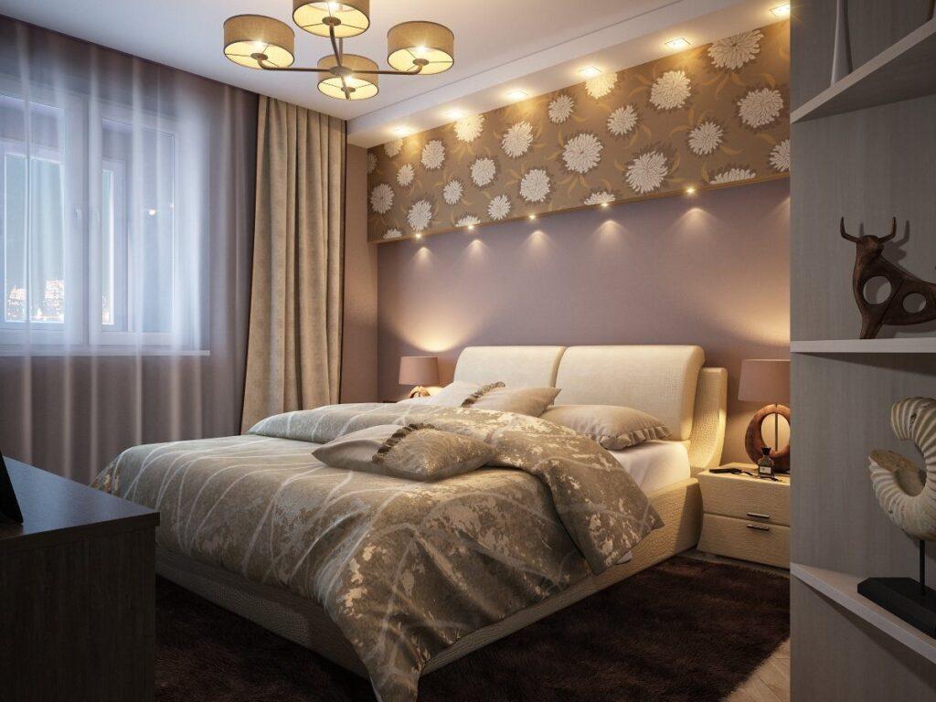 уютная спальня для хорошего сна