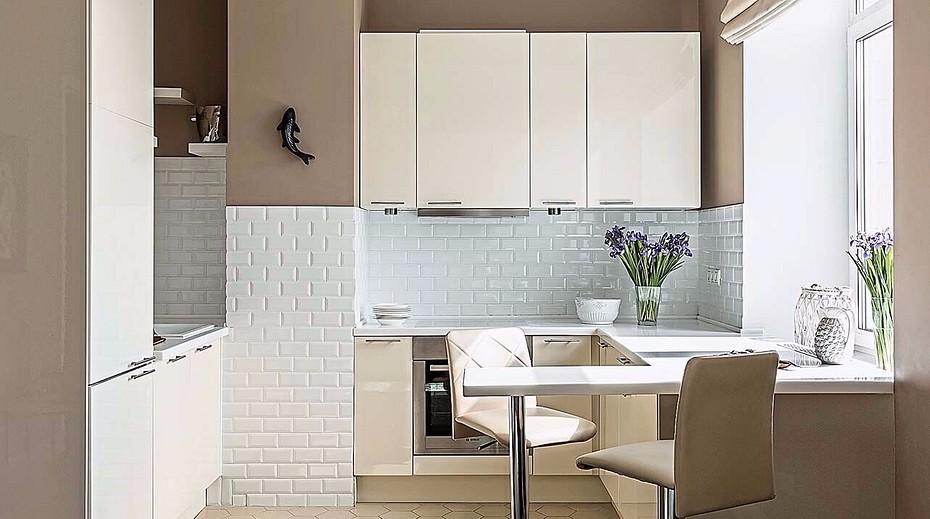 Дизайн маленькой кухни: расширяем пространство