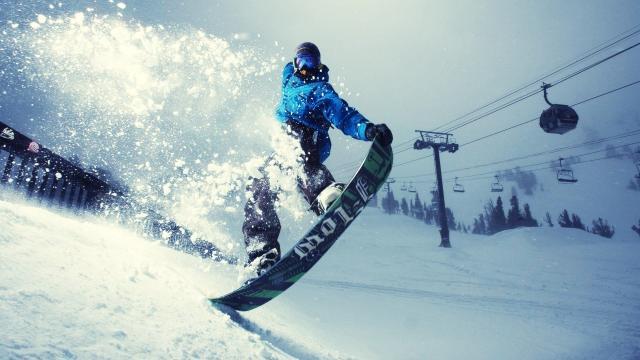 сноубординг фристайл