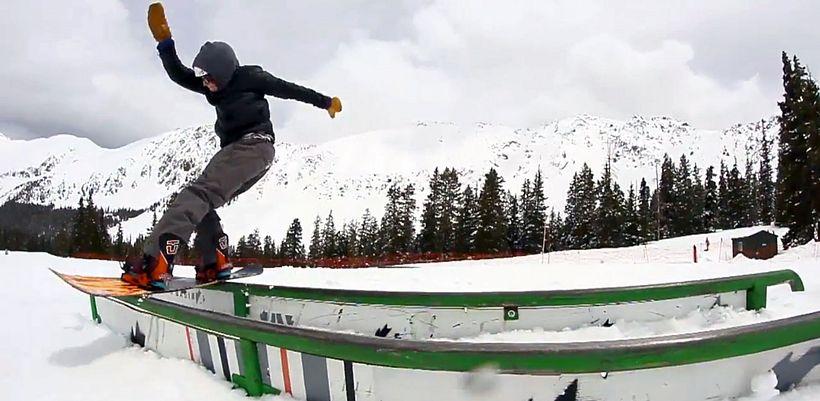 сноубординг Джиббинг