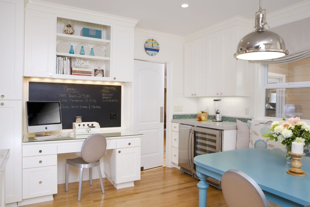 как организовать рабочего места на кухне