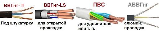 Как выбрать кабели и провода?