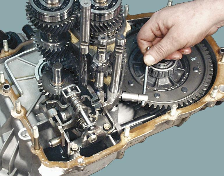 Механическая коробка передач: основные неисправности