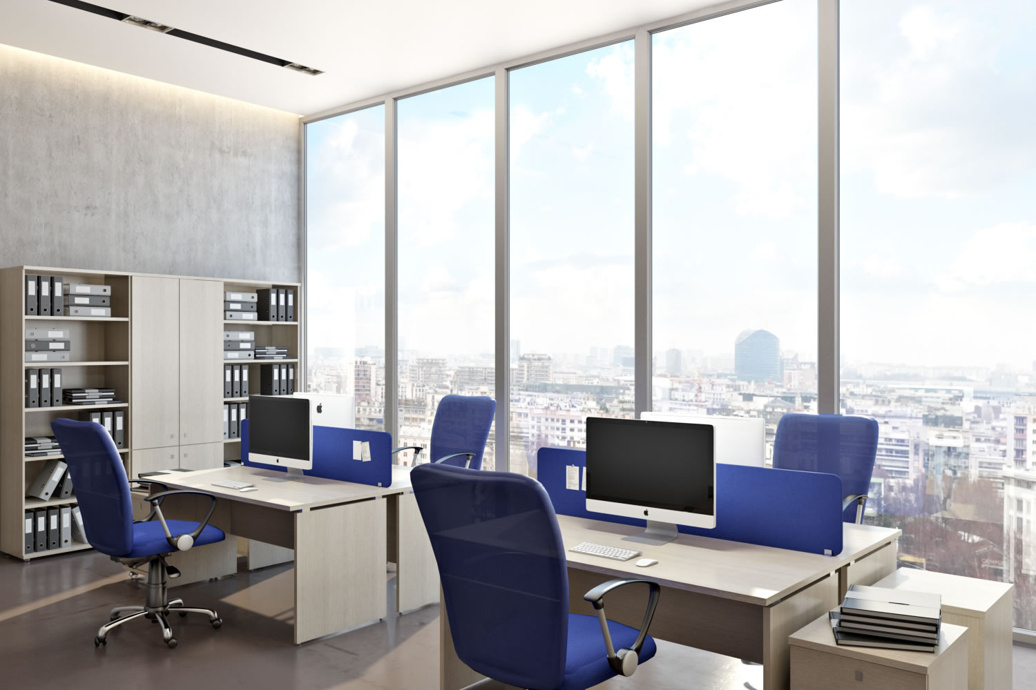 Офис в современном стиле. Обустройте современное рабочее место
