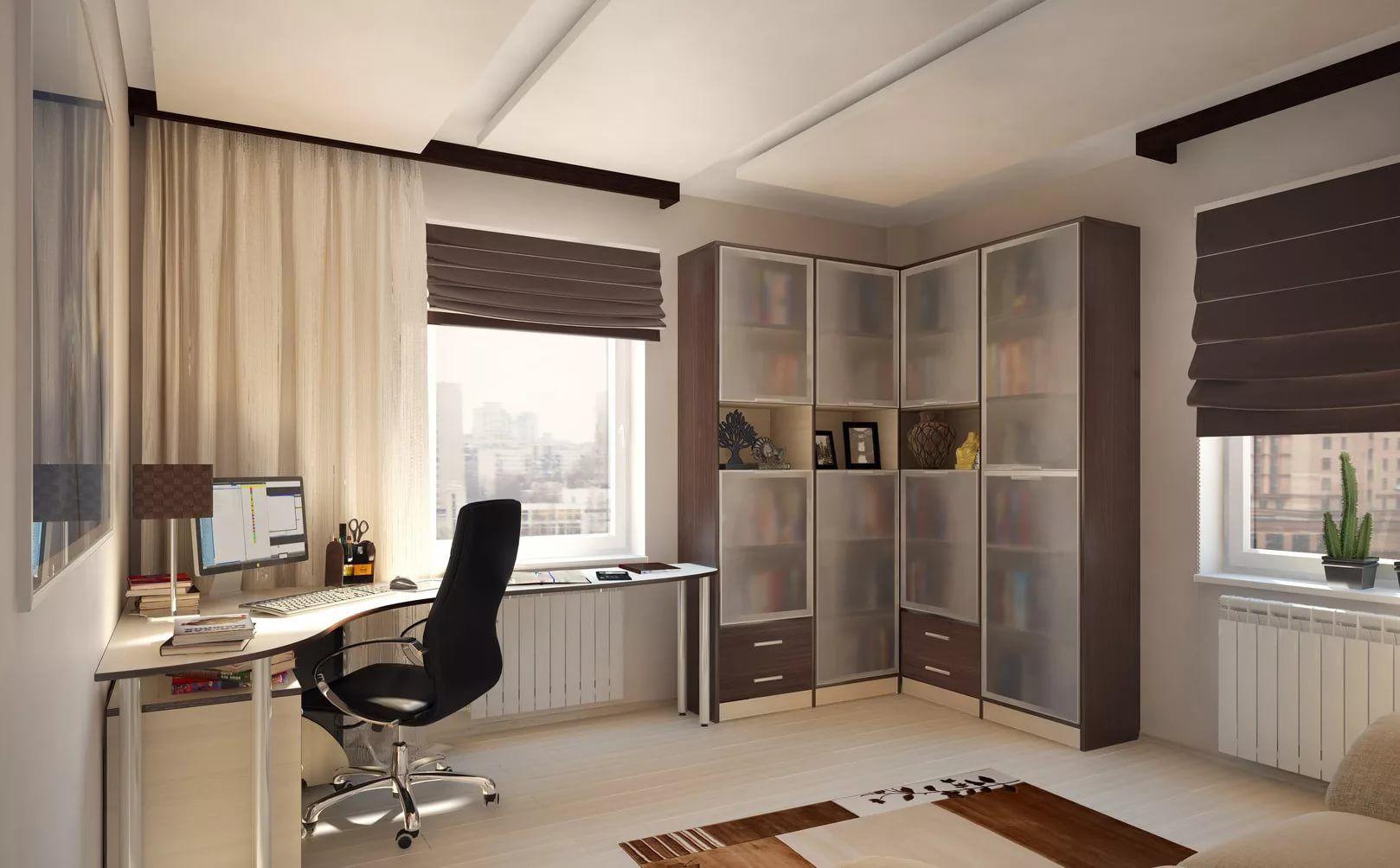 Интерьер домашнего кабинета - идеи и советы