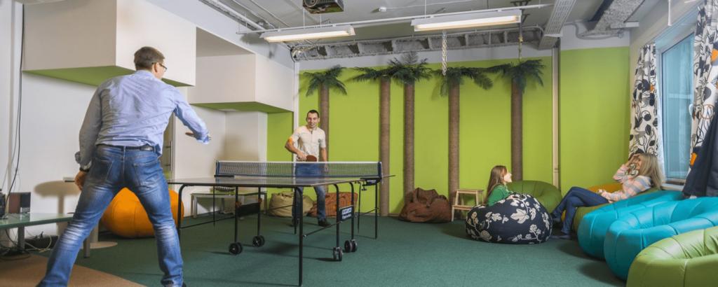 Как обустроить зону отдыха в офисе?